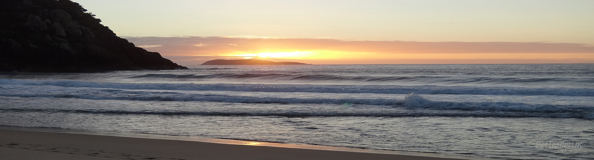 Pettrailer UK Beach Sunrise