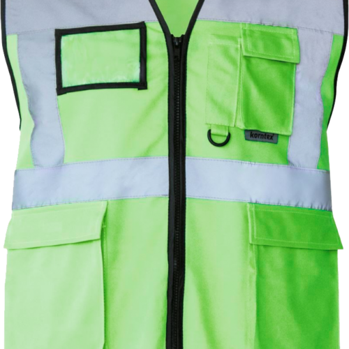 Green Hi-Vis Safety Vest