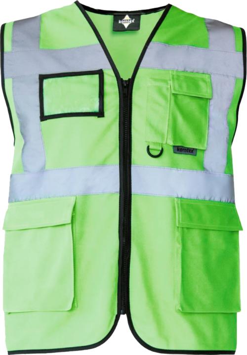 Green Hi-Vis Safety Vest