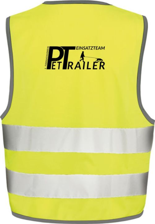Yellow Hi-Vis Safety Vest