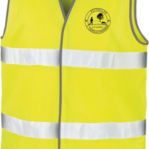 Yellow Hi-Vis Safety Vest